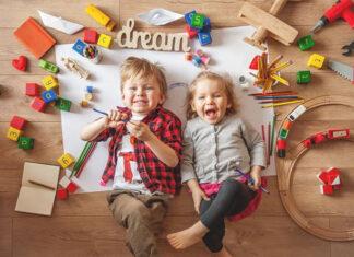 Zabawki dla dzieci rozwijające kreatywność